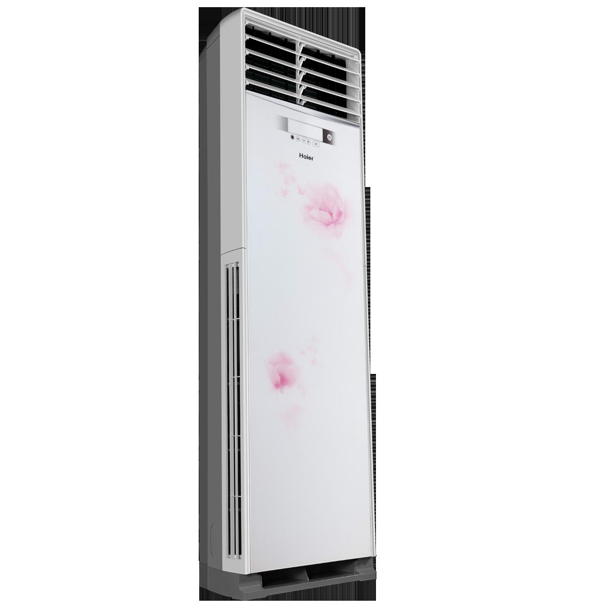 Haier/海尔                         高效定频柜式空调                         KFR-50LW/02HBF12套机(天香牡丹)