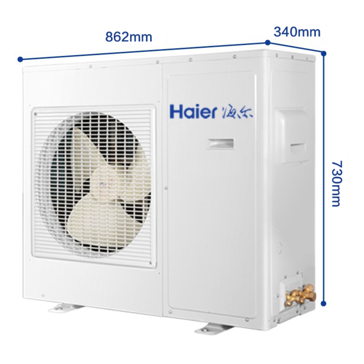 Haier/海尔                         家用中央空调                         海尔 空调 KFRD-71NW/620套机