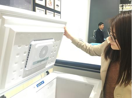 海尔冷柜风循环技术360°新鲜无死角 保鲜冷柜首选