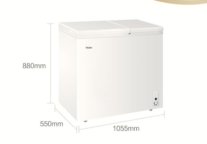 海尔卧式冰柜价格是多少